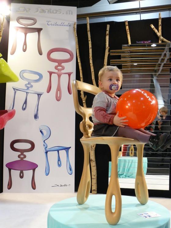 Chaise design en bois crée par le designer normand mickael de santos,nouveautés dans les créations de santos