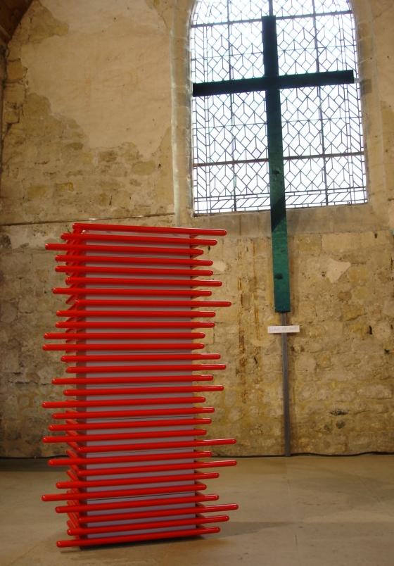 Meuble design Deauville du créateur Normand Mickaël de Santos,commode design à Deauville.Miroir design modulables