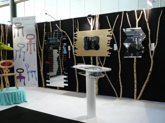 Exposition du Créateur Français  De Santos mickaël à Lille ensemble mioirs design à Lille