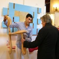 Designer Français mickael de santos et Jean Pierre Mocky.creations de santos
