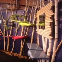 Designer sur Rouen Mickael de Santos, fabrication mobilier design,étégères en bois design, miroirs design modulable