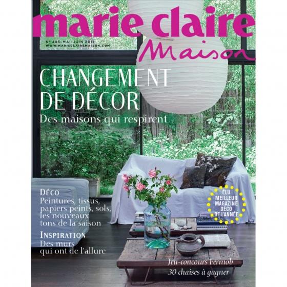 Magazine « Marie Claire Maison ».