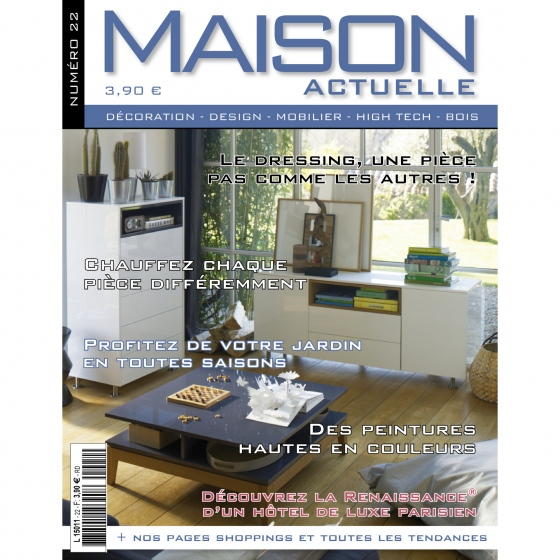 D co maison actuelle for Architecture et tendances magazine