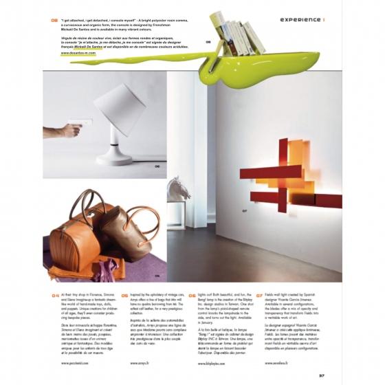 Le designer français et sa console design, en édition limitée surfe sur la tendance du prestige et de l'élégance,partage une vie de palace à Monaco