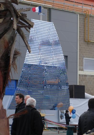 Sculpture-Oeuvre monumentale au Havre.