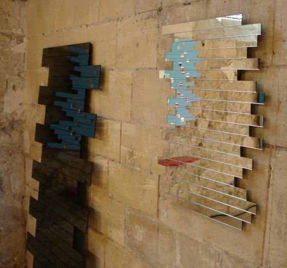 Recherche miroirs design saint etienne ou lyon miroirs for Invention miroir
