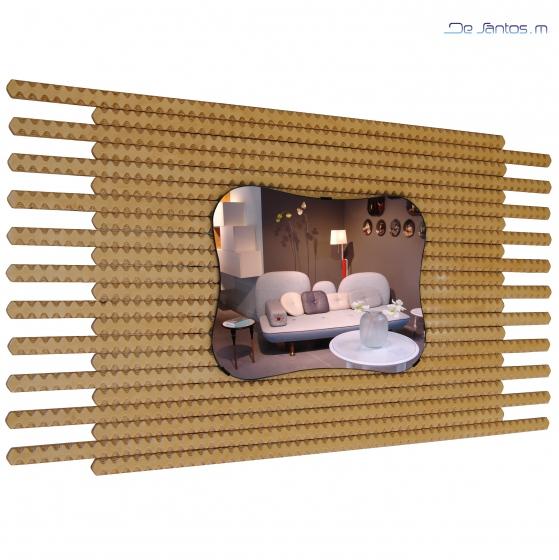 Miroir d coratif abbeville ou boulogne sur mer miroirs for Miroir invention