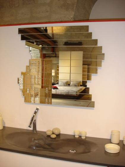 Miroir original fabrication fran aise rouen toulouse for Miroir fabrication