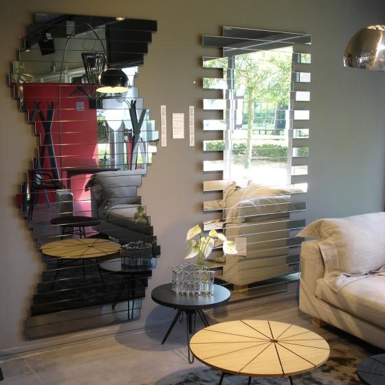 Le top des miroirs design à Megèves ou Monaco, les étonnant miroirs au design changeant du créateur Mickael de Santos
