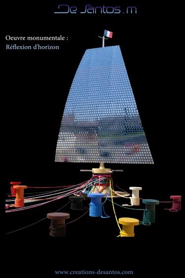 Oeuvre monumentale à vendre-Mickael de Santos