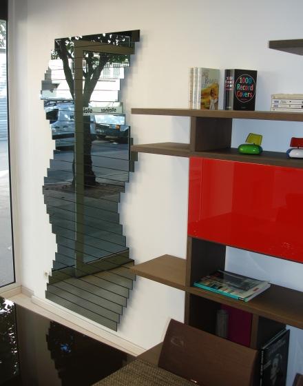 L'espace Steiner de Rouen, le nouveau lieu de vente pour mes miroirs modulables.